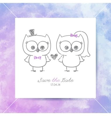 Wedding owls vector bride and groom by redcollegiya on vectorstock wedding owls vector bride and groom by redcollegiya on vectorstock stopboris Choice Image