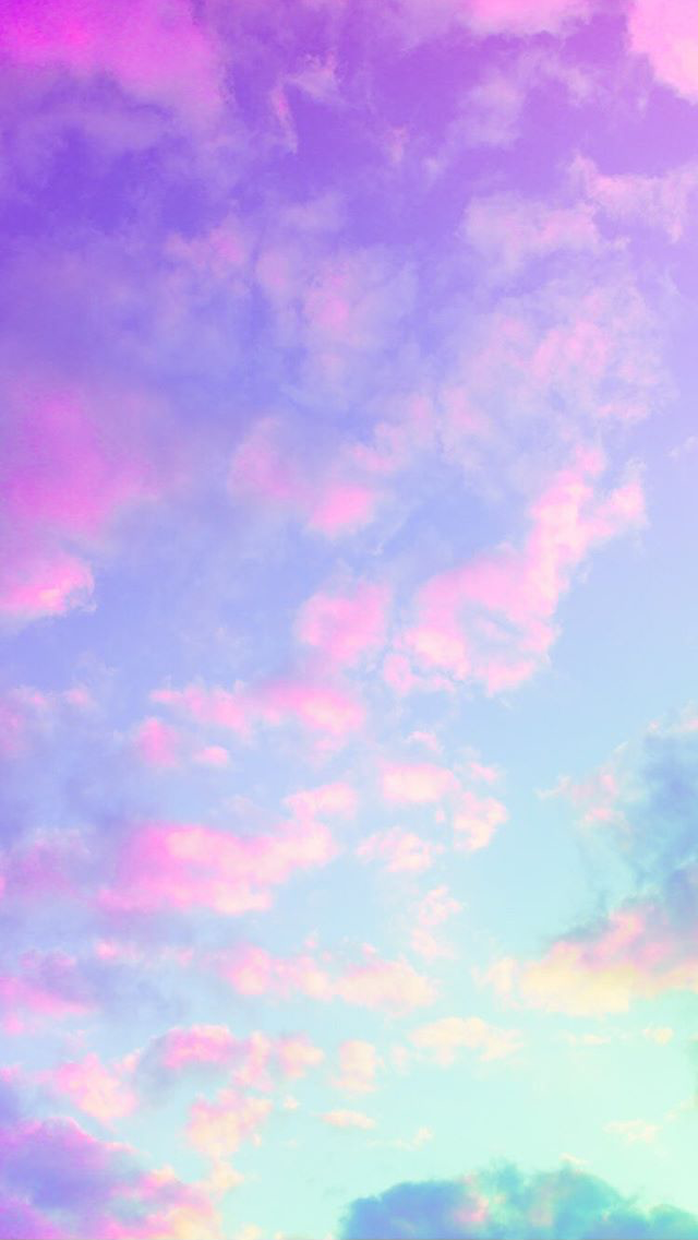 Matt Crump photography iPhone wallpaper Pastel sunset sky clouds