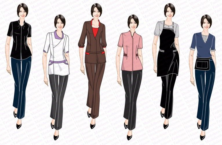 Salon spa uniform design singapore uniforms supplier for Uniform design for spa