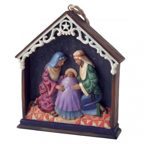 Kerststal ornament Jim Shore