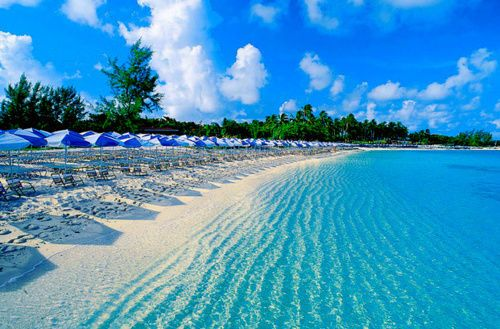 clear blue water <3