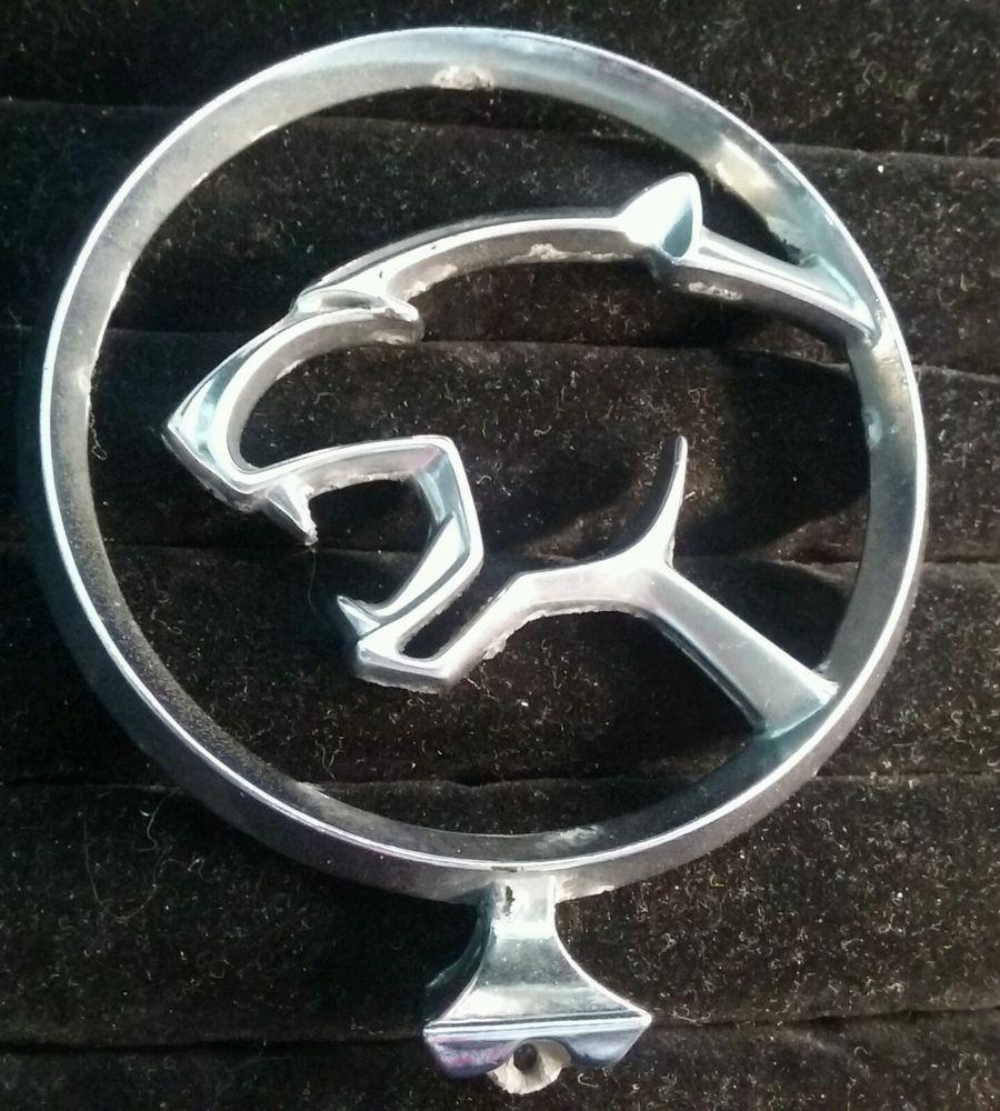 Oem Late 1970s Early 1980s Mercury Cougar Hood Ornament Emblem