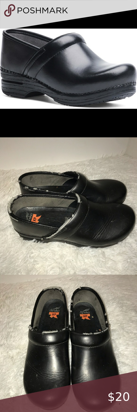Dansko Proffesional Clog Black Leather