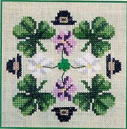 cross stitch patterns for st patrick's day - Google Search