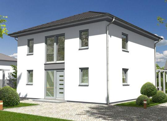#Stadtvilla 145 - Elegance aus Sicht des #Einganges