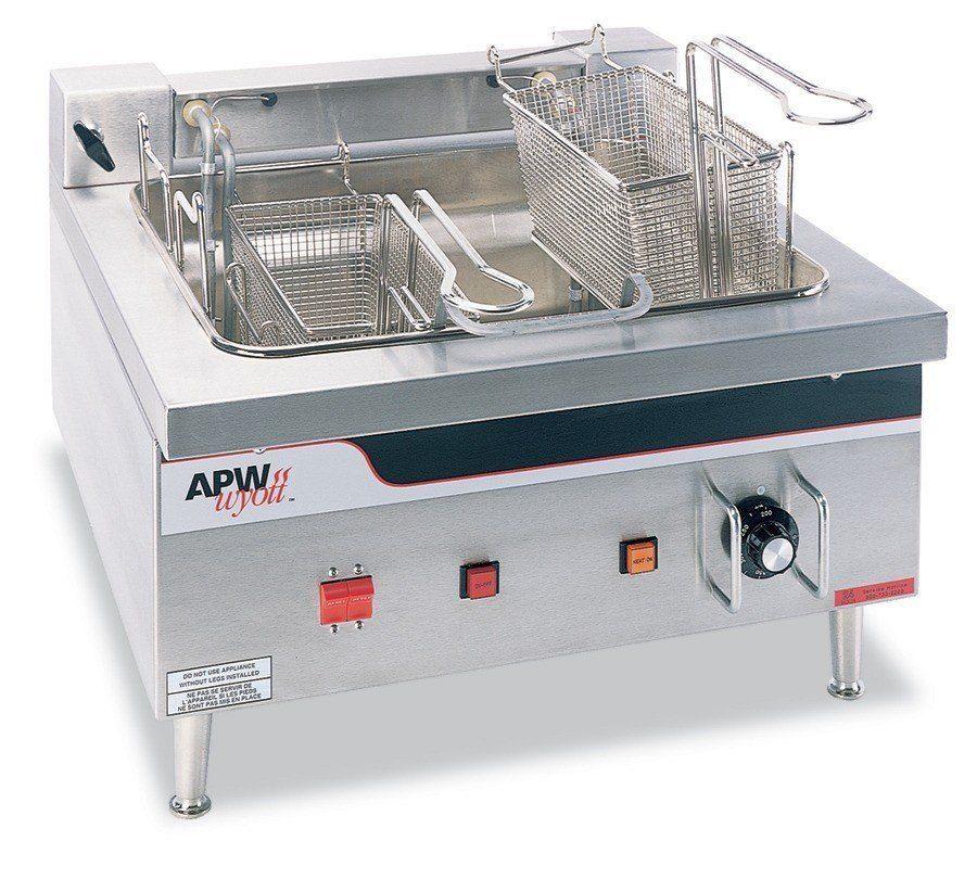 Apw Wyott Ef 30i 30 Lb Commercial Countertop Deep Fryer 208v