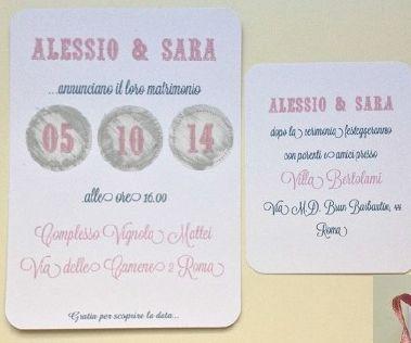 Segnaposto Matrimonio Gratta E Vinci.Partecipazione Gratta E Vinci Su Www Partecipazioniebomboniere Com