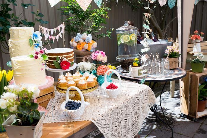 Secret Garden: Garden Baby Shower Party Planning Ideas Supplies Idea