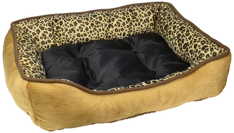 Kole Ki Od475 Square Leopard Print Pet Bed One Size More Info Could
