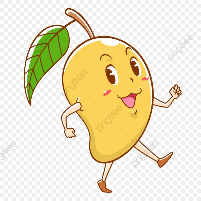 Mango Happy Happy Mango Mango Walking Mango Clipart Walk Walking Mango Png Transparent Clipart Image And Psd File For Free Download In 2021 Clip Art Clipart Images Free Illustrations