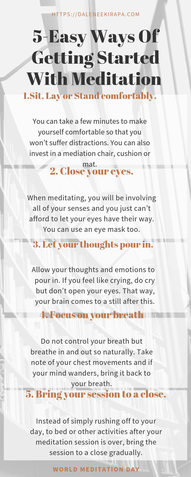 5 Easy Steps Of Getting Started With Meditation Today ...