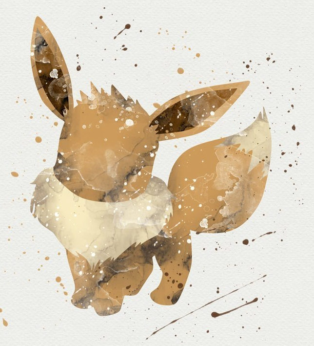 Pokemon Watercolor Paintings made by Dragon-fly -