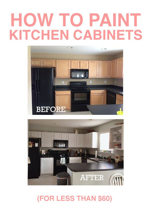 How to Paint Kitchen Cabinets Triumph Pinterest Kitchens