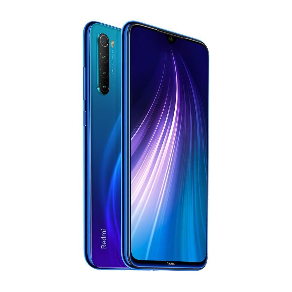 Xiaomi Redmi Note 8 Smartphone 6 3 Dual Sim 64 Gb 4gb Ram Neptune Blue Xiaomi Smartphone Fingerprint Id