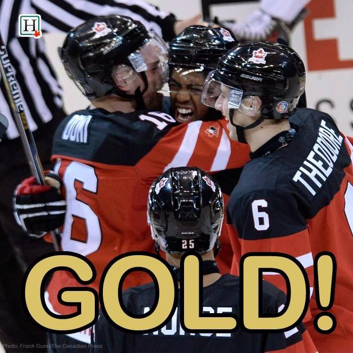 Canada Defeats Russia 5 4 To Win Gold Canada Beats Russia For World Junior Hockey Championship Gold Fina World Junior Hockey Team Canada Team Canada Hockey