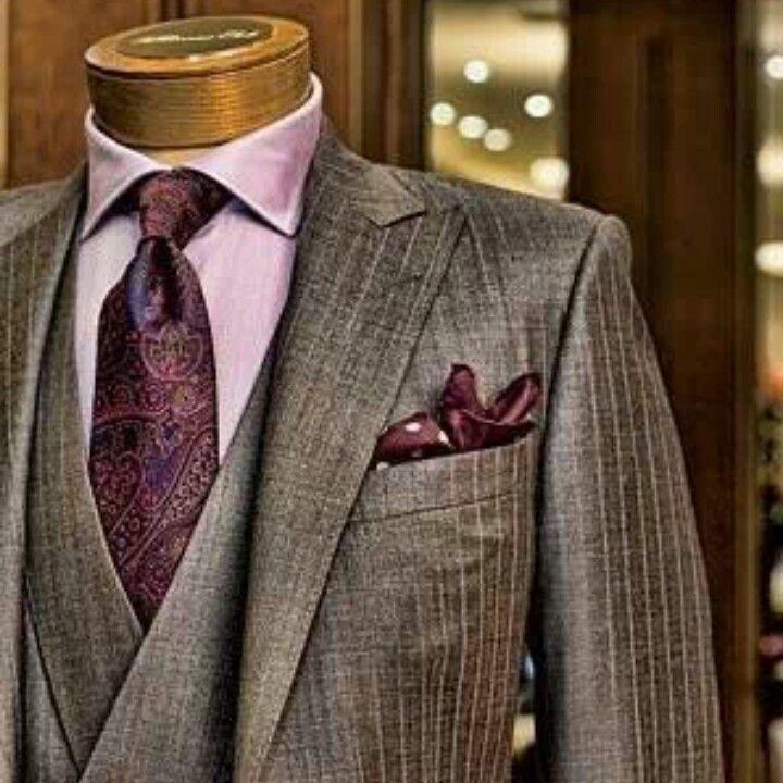 Paul Stuart Custom Suit