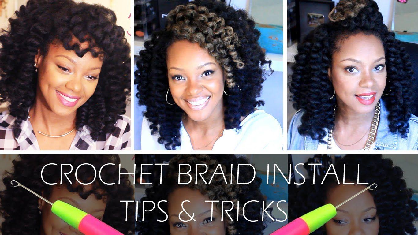 Before you crochet braid watch this video border hammer hair