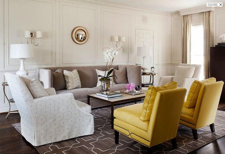 Madeline Weinrib Platinum Westley Cotton Carpet via Courtney Hill interiors