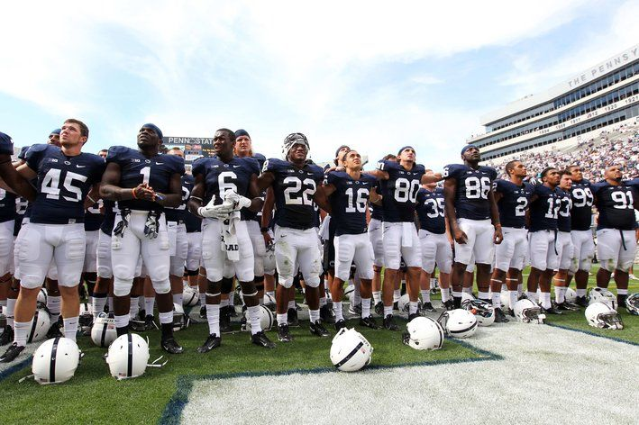 The Nittany Lions Open Their Season At Home With A Win Eastern Michigan Penn State Football Penn State