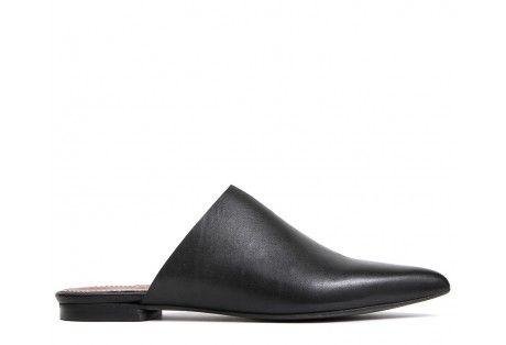 df5e68635fd37 Amelie Black Mule by Hudson Shoes