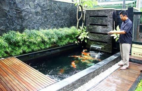 ผลการค้นหารูปภาพสำหรับ kolam ikan kecil minimalis   kolam