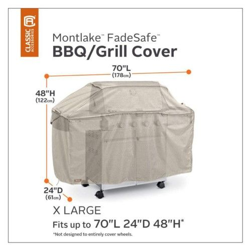 Classic Accessories Montlake Cart Bbq Cover As Shown Products