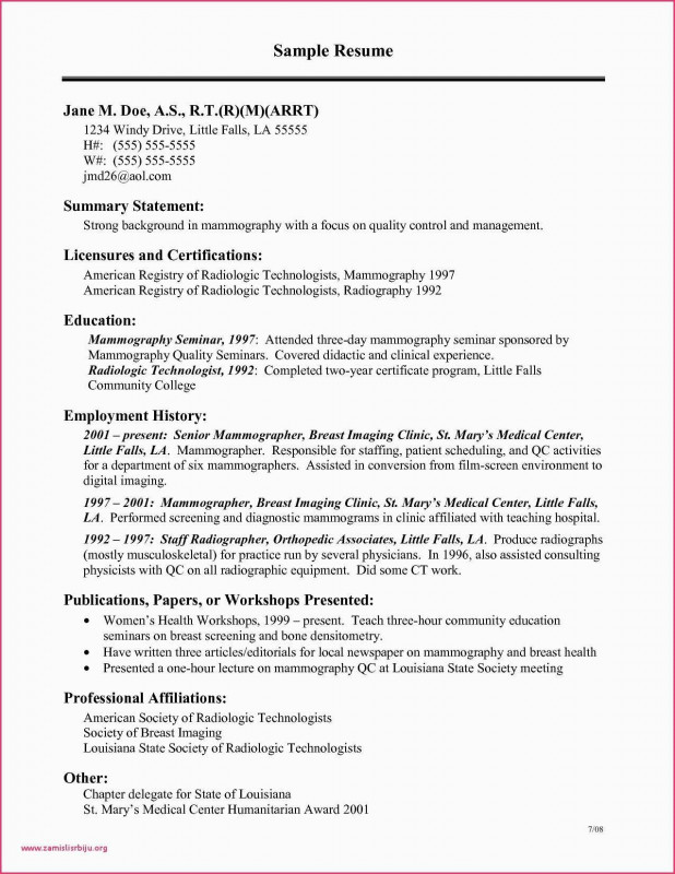Veterinary Health Certificate Template Unique Seminars Attended In Resume Sample New Veterinarian Resume Sample Radiology Technologist Nuclear Medicine Resume