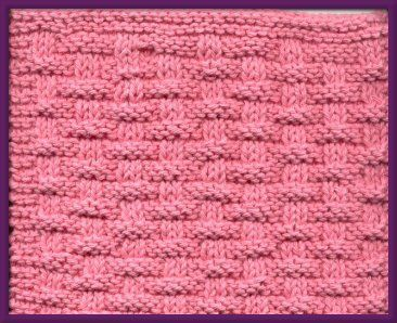 Free Knitting Pattern - Dishcloths & Washcloths : Woven Dishcloth