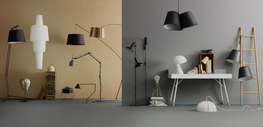 Decorative lamps designed by boconcept
