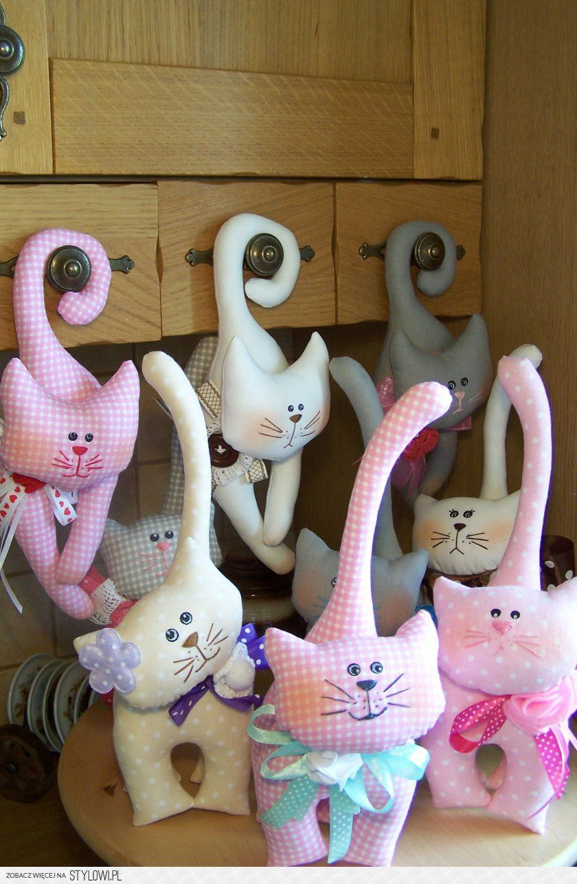 www.blog.tildy.pl Fabric toys, Crafts, Animal sewing