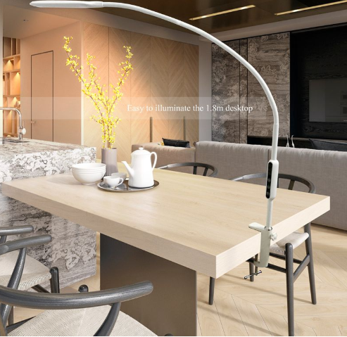 Long Arm Clip On Table Lamp Led Desk