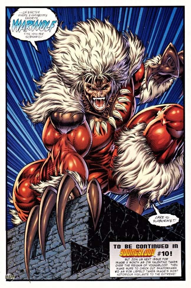 warwolf marvel | Youngblood e quel meraviglioso, spettacolare disastro ferroviario che ...