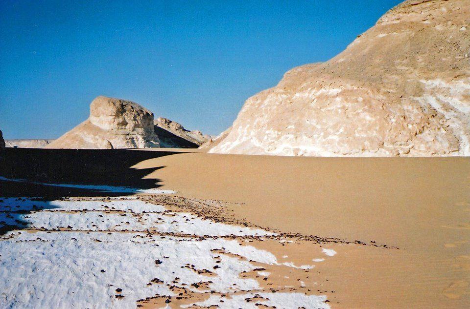 White Desert in Farafra, Egypt