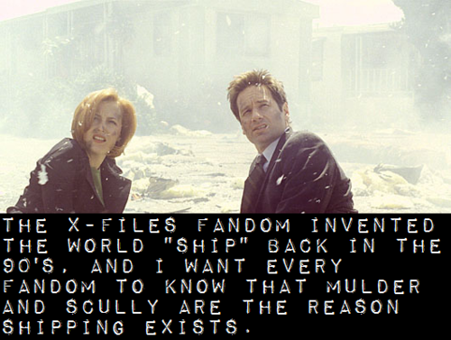 Introduction To Shipping Ship 101 I Ve Pinned This Before But I Believe It Is Worth Repinning X Files Mulder Scully