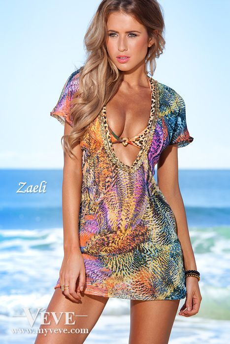 e438583ac beautiful girl in bikini. Zaeli Cover Up Modelled by Renee Somerfield  http   www.myveve.com