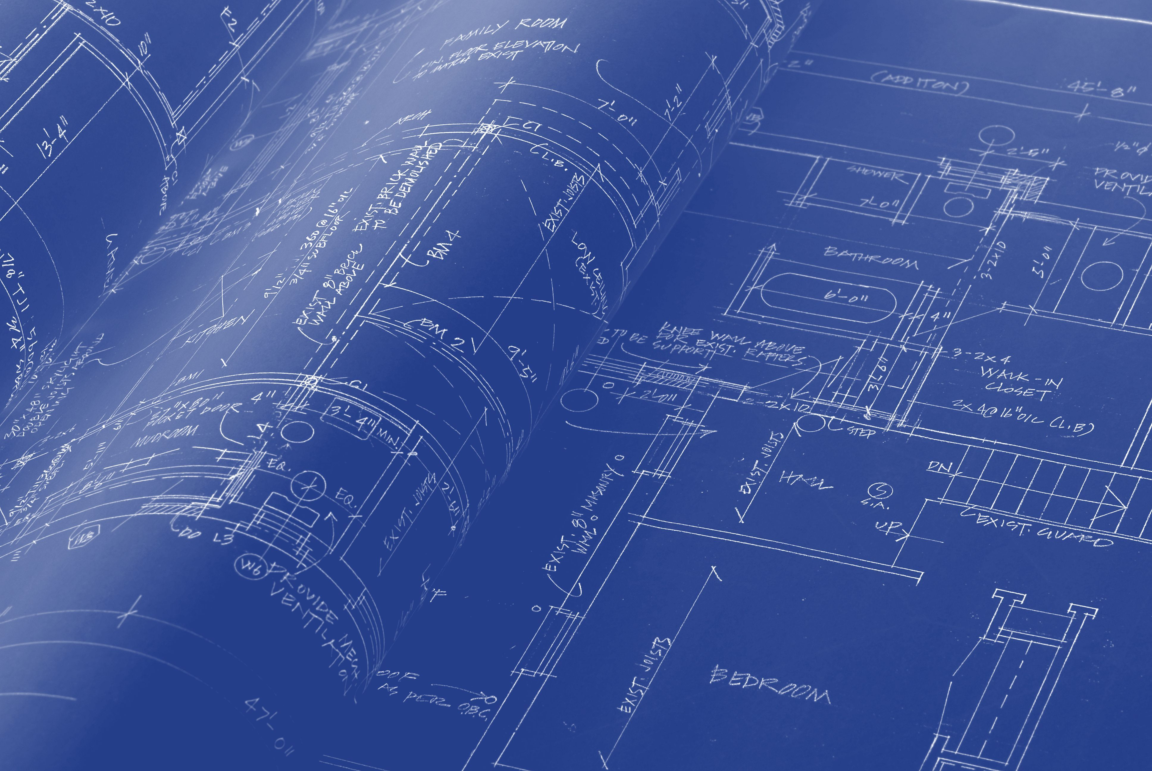 How to make blueprint paper blueprints were one of the first ways to make copies of plans or drawings heres how to make blueprint paper yourself malvernweather Choice Image
