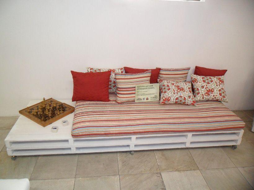 Como fazer um sof de pallets dicas e passo a passo - Sofa de pallet ...