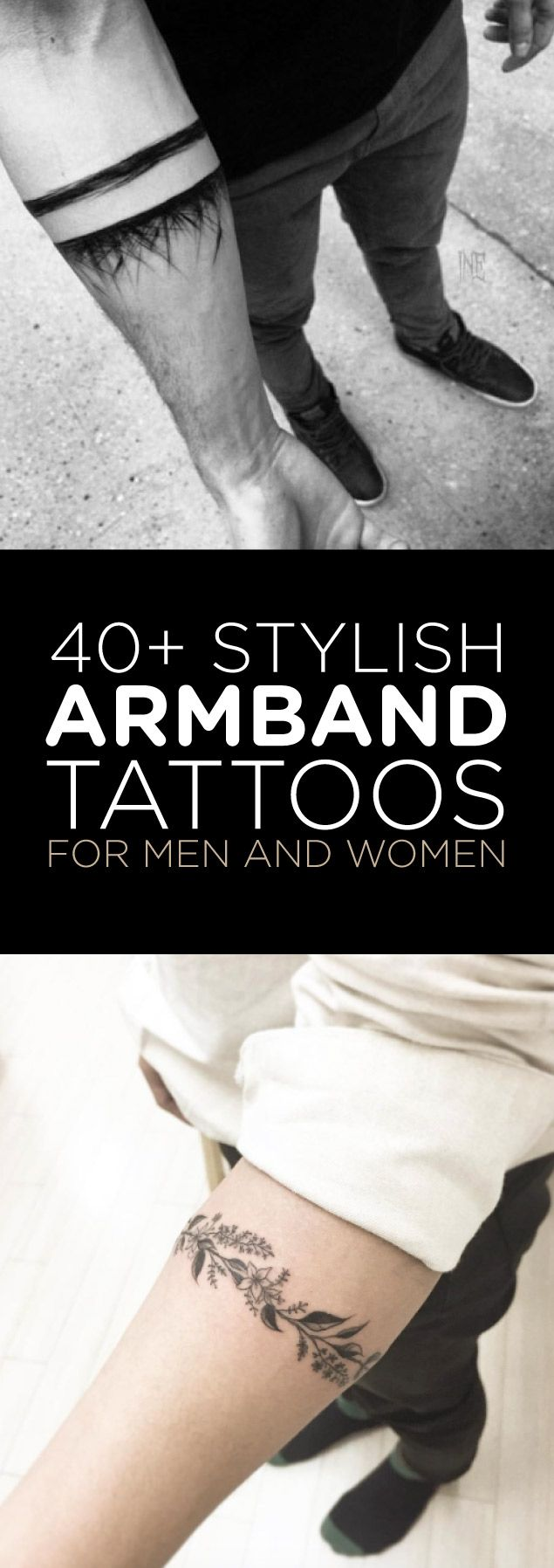 The perfect armband tattoo is a rare thing. You could