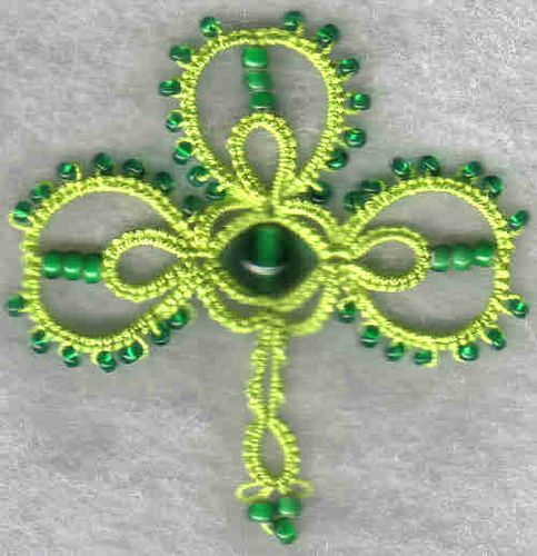 beaded shamrock | Flickr - Photo Sharing!