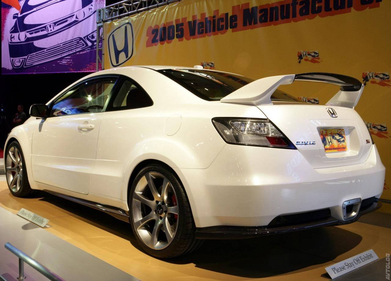 2005 Honda Civic Si Sport Concept Honda civic si, Honda