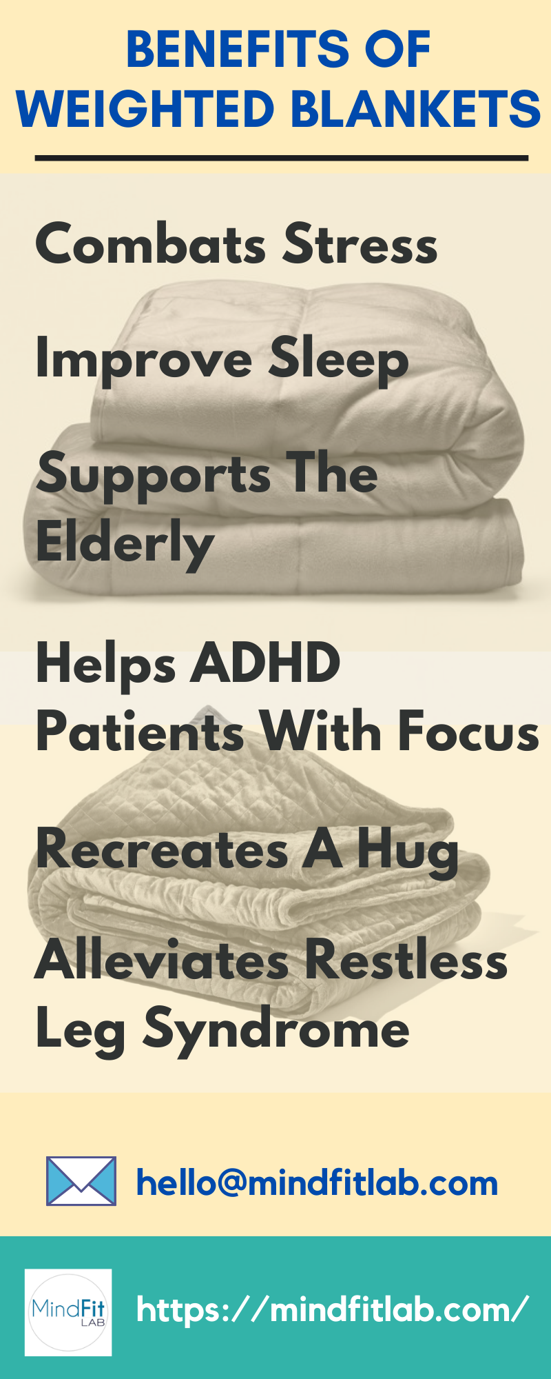 5 Weighted Blanket Benefits For Kids Adults And How To Choose One Weighted Blanket Benefits Weighted Blanket Stress Response
