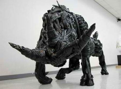These 25 Used Tire Sculptures By Artist Yong Ho Ji Are Brilliant! (I Simply Can't Believe Someone Could Do this With Used Tires!)