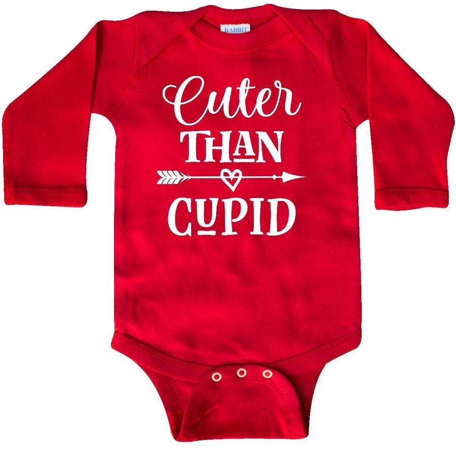 Inktastic Valentines Day Cuter Than Cupid Toddler T-Shirt Valentine Cute Childs