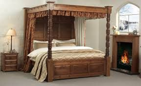 4 Post Bed Curtains image result for antique carved wooden four poster bed with