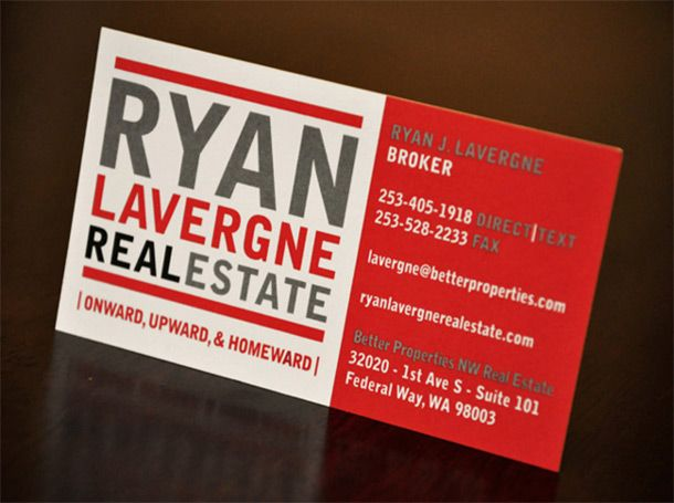 15 Cool Real Estate Agent Business Cards | Printaholic.com | Real ...