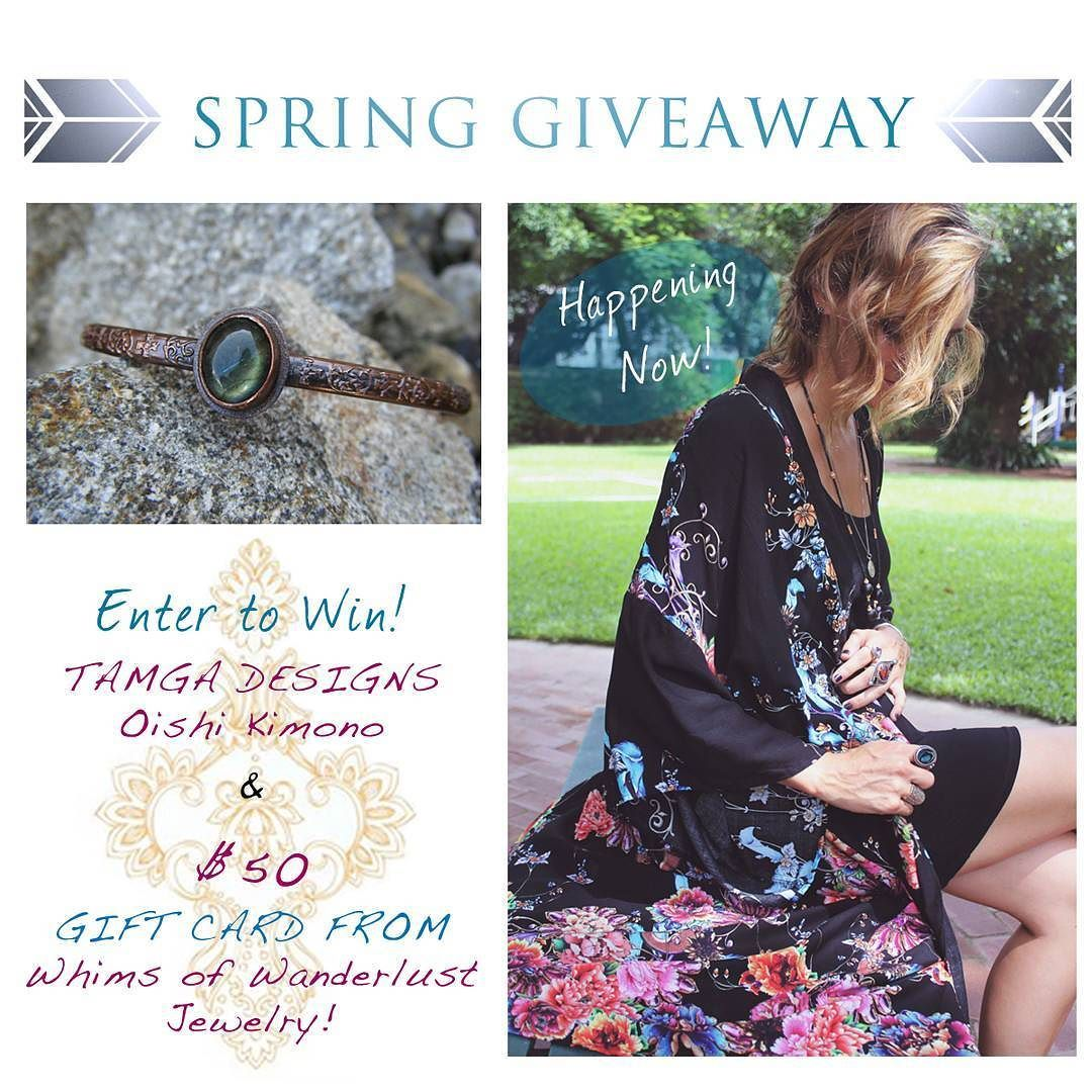 Enter NOW for a chance to win this colorful Oishi Kimono