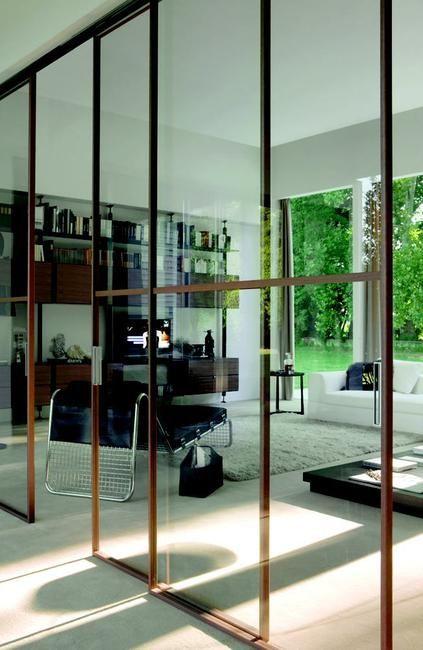 Porte design Lyon - Portes Design, pose porte du0027intérieur design - pose de porte coulissante