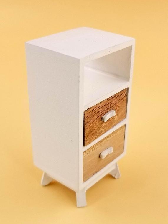 Dollhouse Miniatures 1:12 Scale Bar Stand Walnut #CLA10921