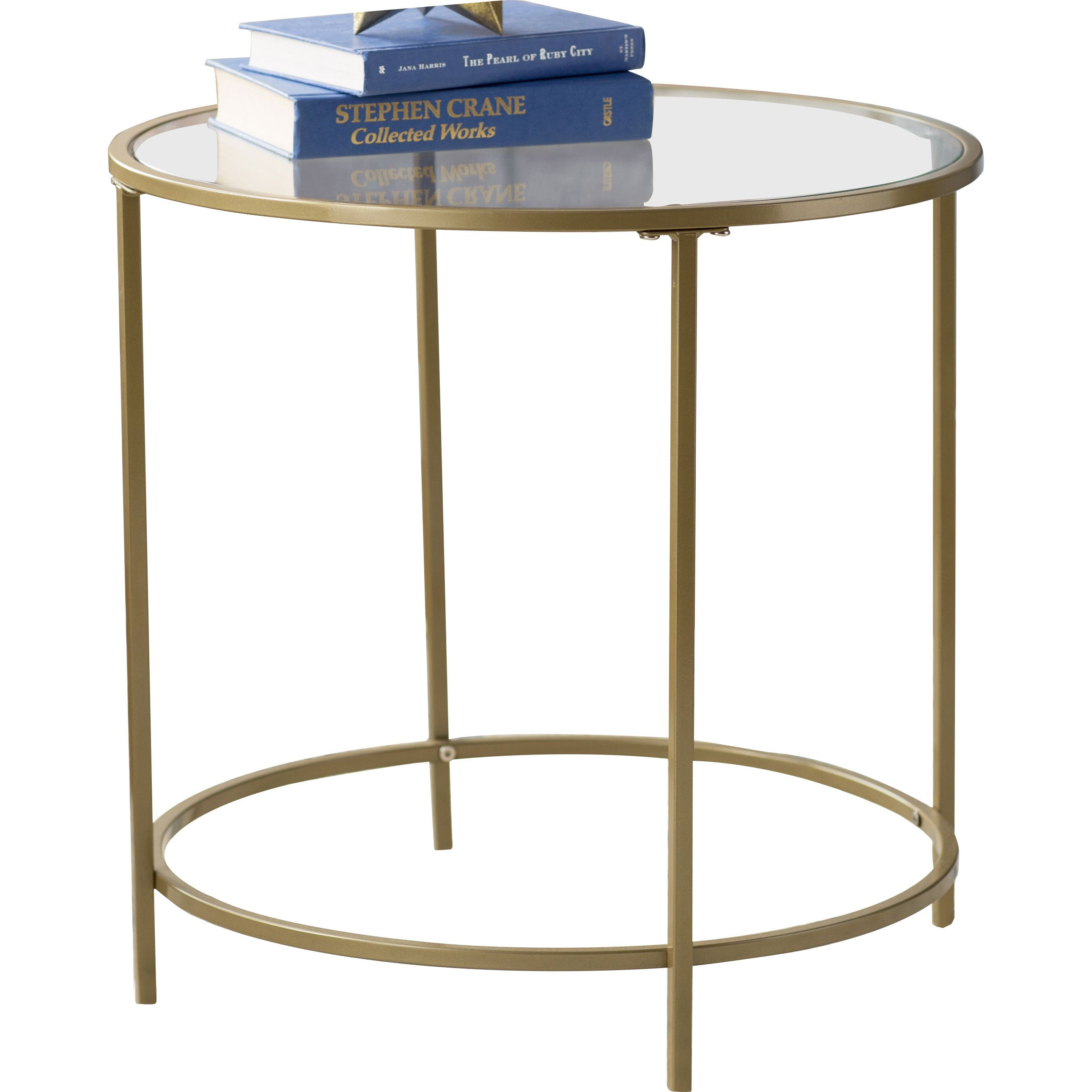 House Of Hampton Alsager End Table End Tables Metal End Tables