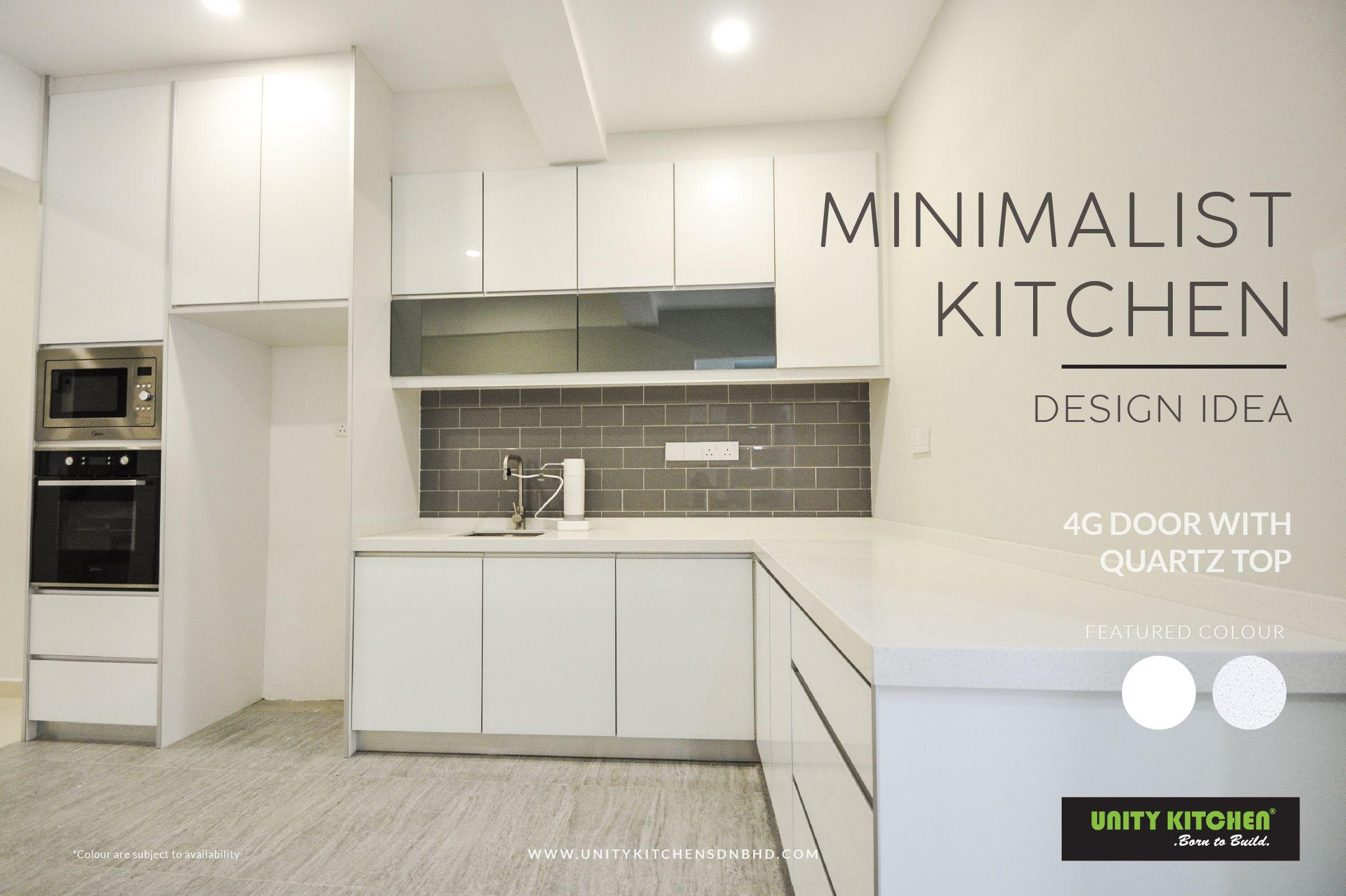 Create Your Own Unique Kitchen Cabinet By Unity Kitchen Unitykitchen Chooseunity Kitchencab In 2020 Minimalist Kitchen Design Kitchen Cabinets Kitchen Design